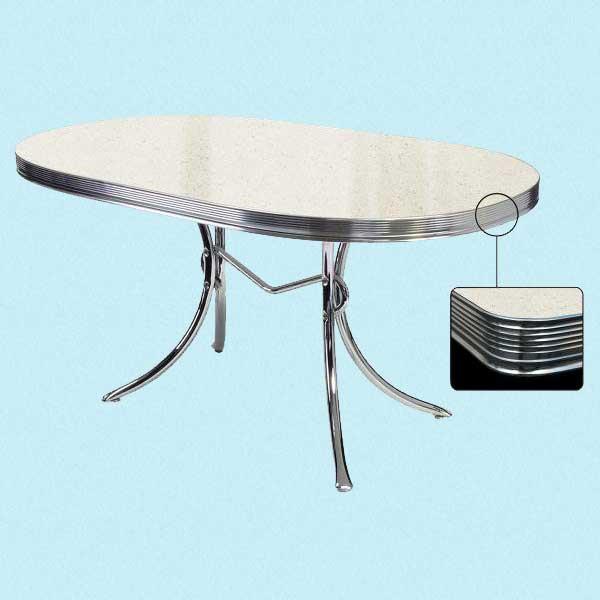 Spisebord ovalt   ruth 66